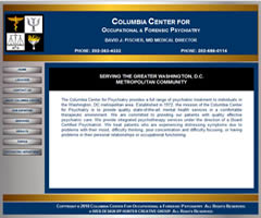 Columbia Center for Occupational and Forensic Psychiatry - Professional in Washington, DC, Metro Area