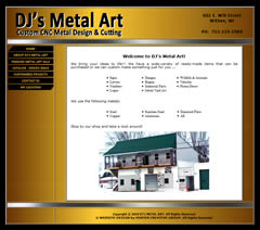 DJ's Metal Art - Metal Art Designer in Withee, Wisconsin
