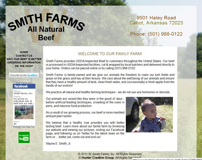W Smith Farms - All Natural and Organically Farmed Meat