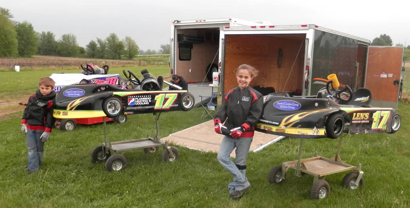 Sponsored Website - Kohrs Motorsports Go Cart Racing