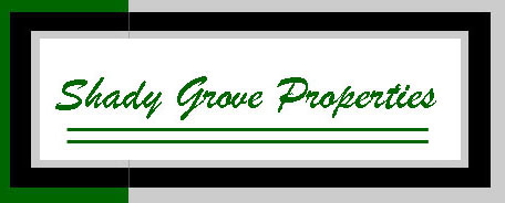 Custom Logo Design for Shady Grove Properties.