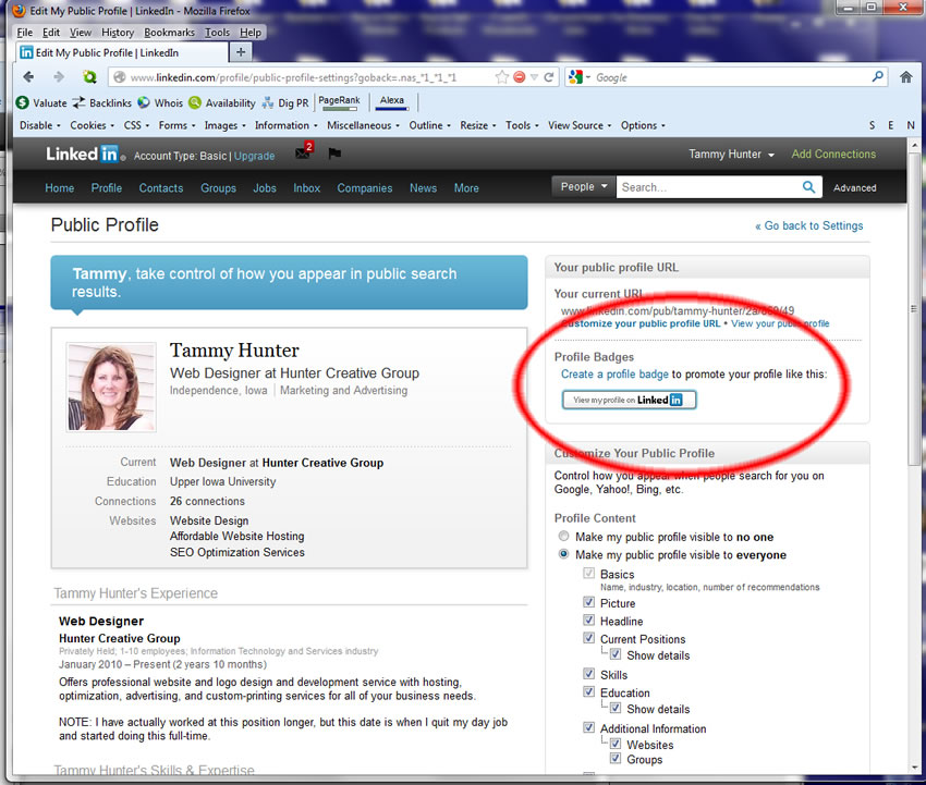 linkedin how to create business page